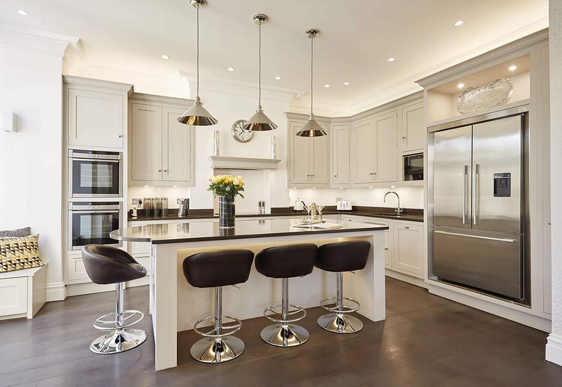 تصویر از پاورپوینت ضوابط طراحی معماری آشپزخانه